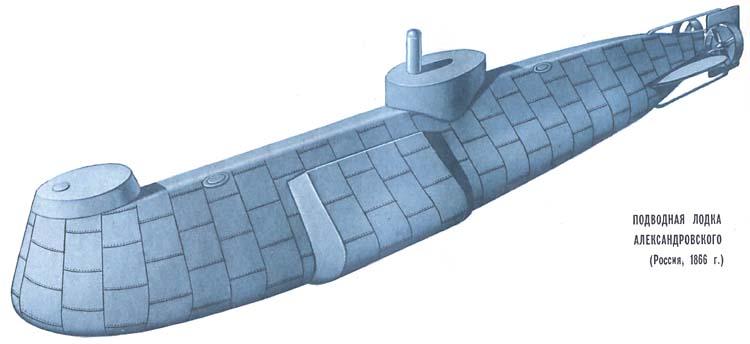 Подводная лодка александровского